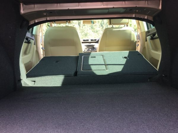 wd64rkv boot space rear seats folded
